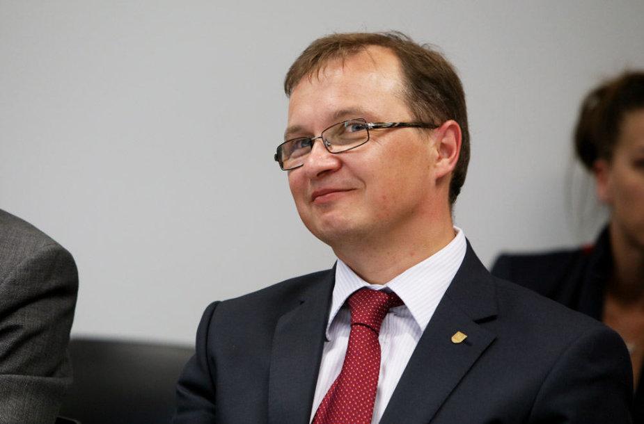 Klinikų vadovas Renaldas Jurkevičius