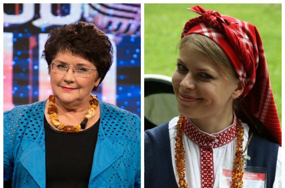 Zita Kelmickaitė ir  Loreta Sungailienė