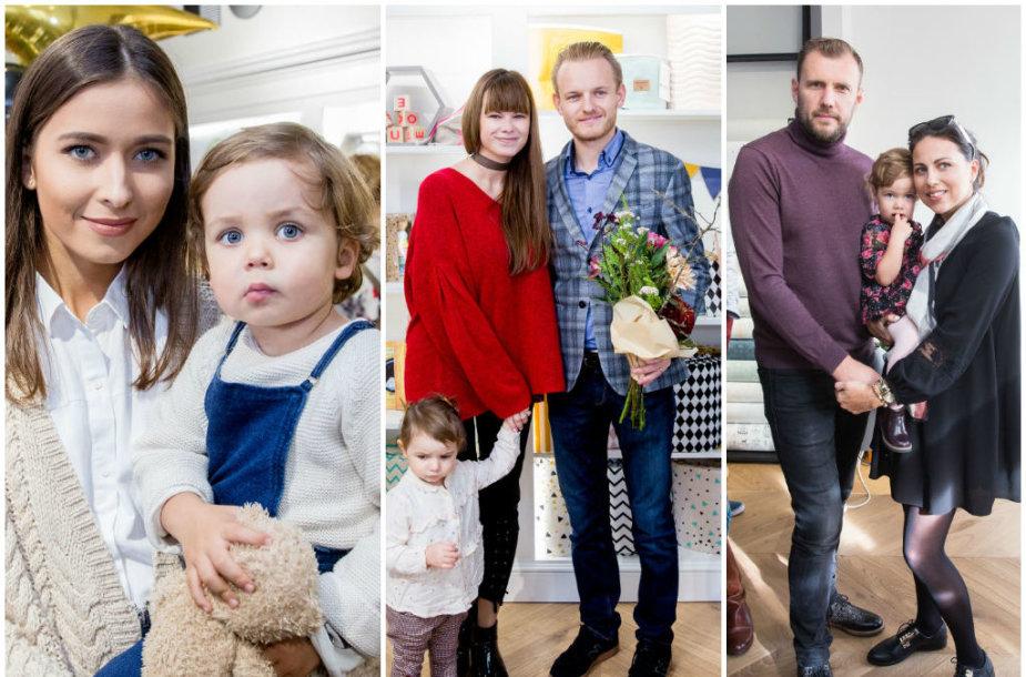 Patricija Gadžijeva, Šarūnas ir Laura Mazalai, Julija Žižė su vyru Laurynu