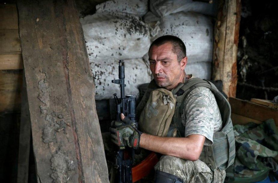 Ukrainos karių kasdienybė