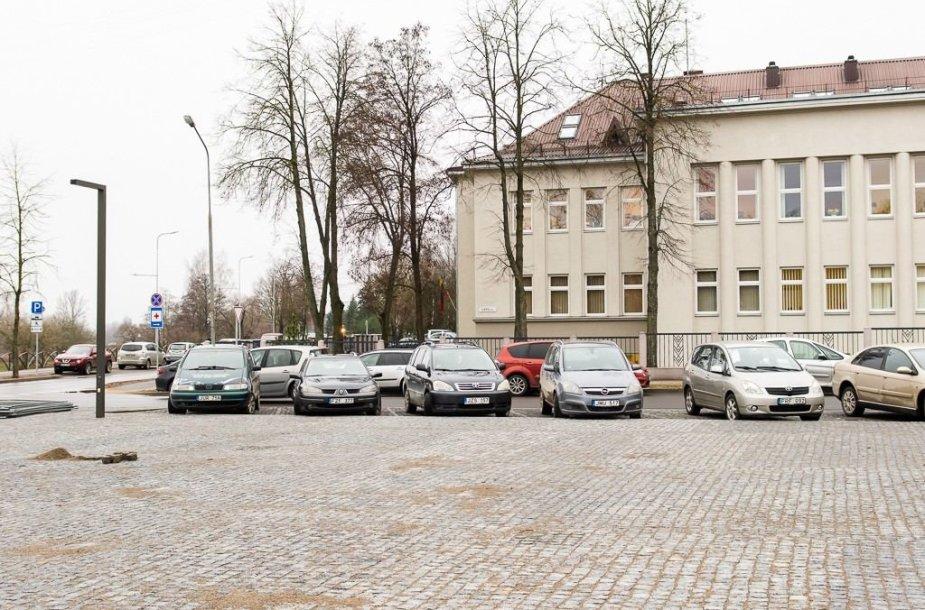 Automobilių statymas Panevėžyje