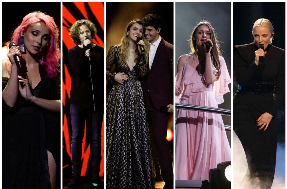 """""""Eurovizijos"""" finalistai"""