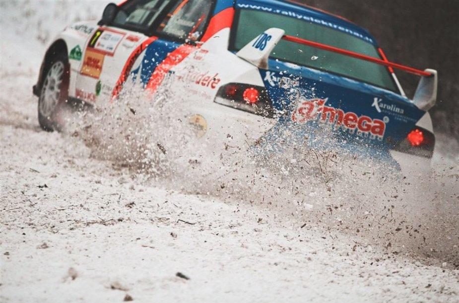 """Winter rally"", E.Buiko nuotr."