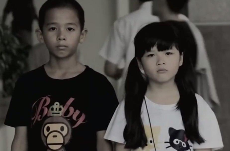 Rūkyti prašantys vaikai