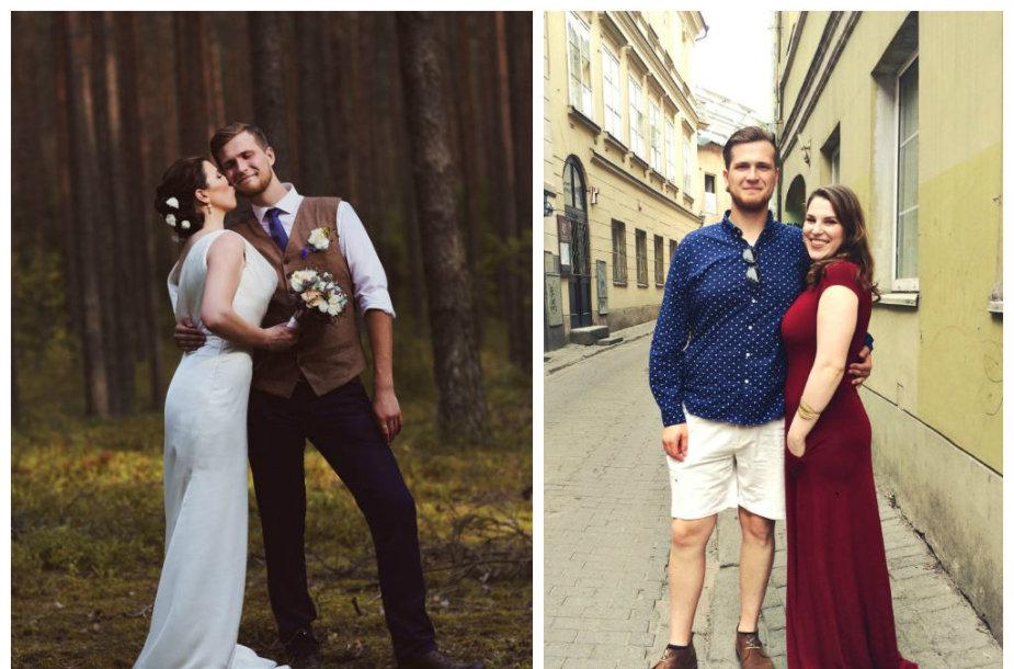 Elena Landsbergytė-Bukauskienė ir Dovilas Bukauskas
