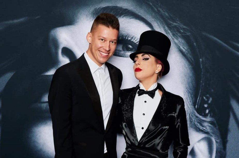 RImvydas Širvinskas-Makalius ir Lady Gaga