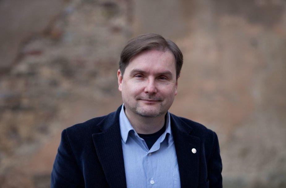 Vilniaus universiteto Komunikacijos fakulteto dekanas doc. dr. Andrius Vaišnys.