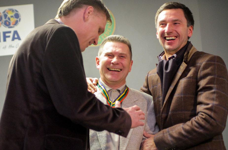 Edgaras Jankauskas, Arminas Narbekovas ir Deividas Šemberas