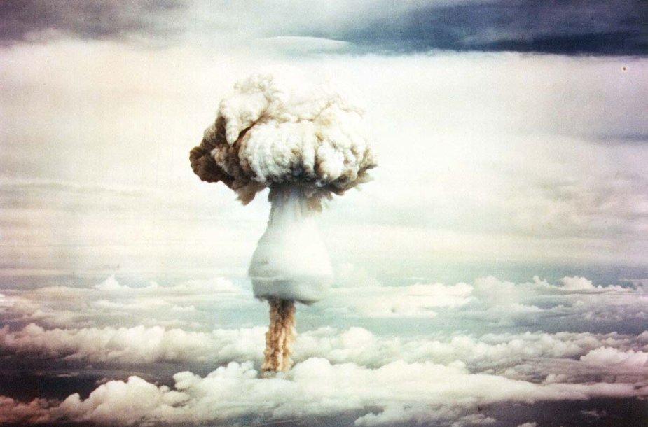 Vandenilinės bombos sprogimas