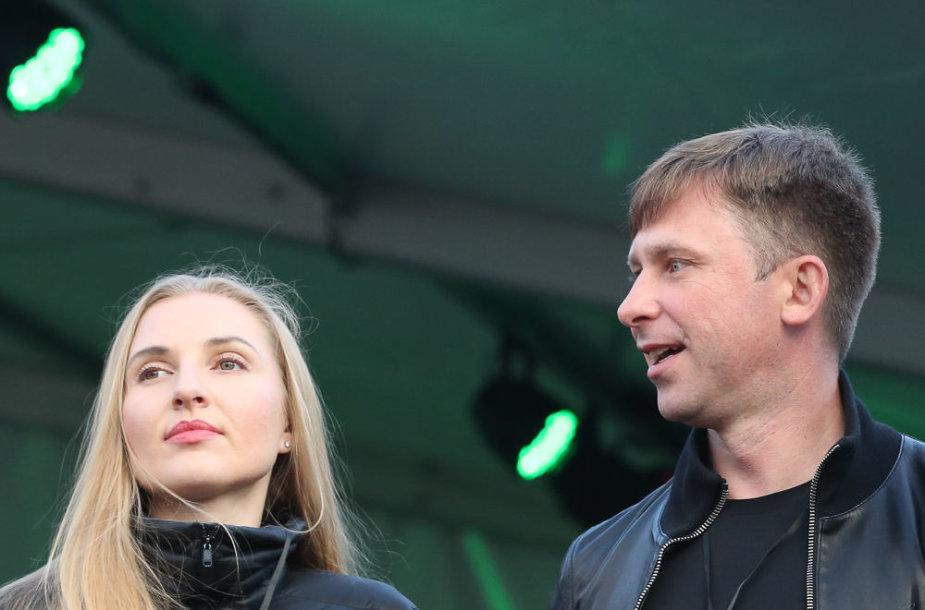 Eleonora Sebrova ir Egidijus Dragūnas