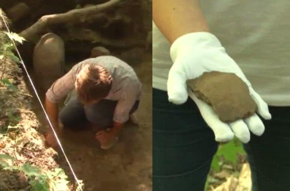 Archeologai aptiko tūkstantmetį menančią kuršių gyvenvietę