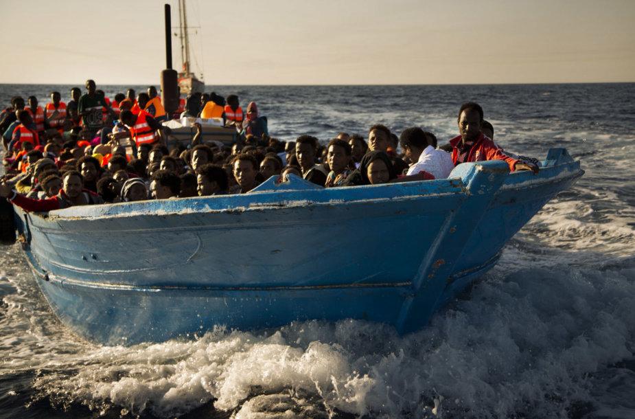 Migrantai iš Eritrėjos