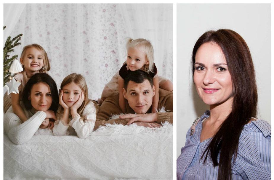 Jono ir Agnės Mačiulių šeima