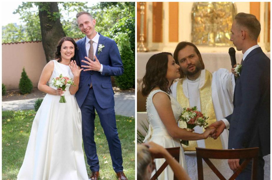 Justės Navickaitės ir Antano Tamošaičio vestuvės