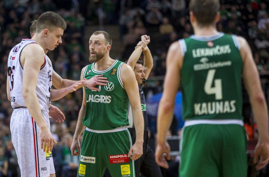 """LKL rungtynėse susitinka: Kauno """"Žalgiris"""" – Vilniaus """"Rytas"""""""