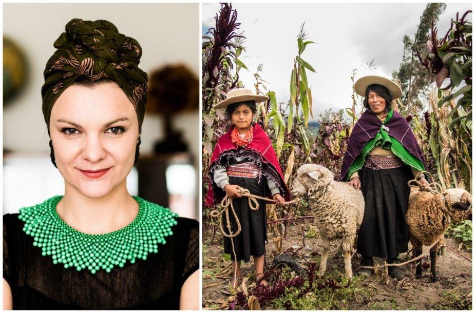 Berta Tilmantaitė ir Pietų Amerikos moterys