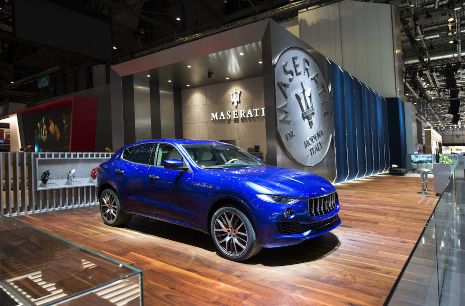 """""""Maserati"""" Ženevos automobilių parodoje"""