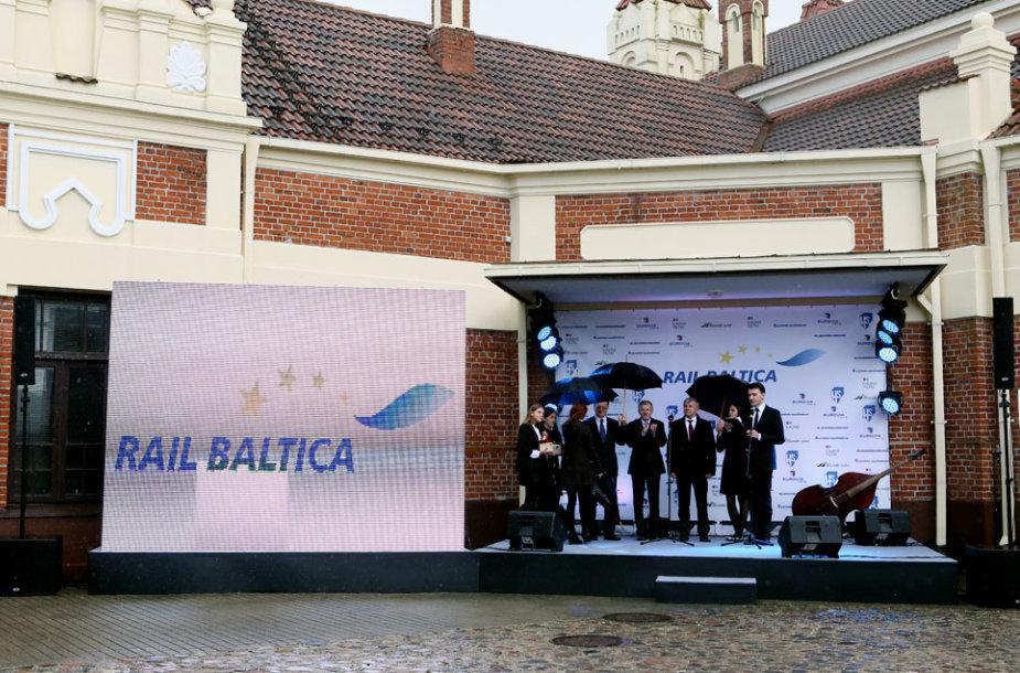 """""""Rail Baltica"""" geležinkelio darbų pradžios iškilmės"""