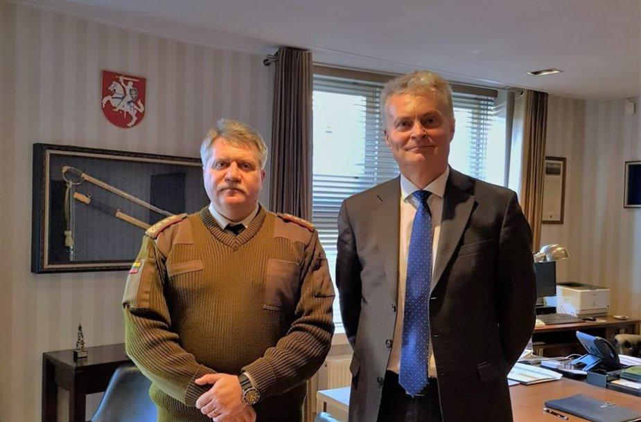 Jonas Vytautas Žukas ir Gitanas Nausėda