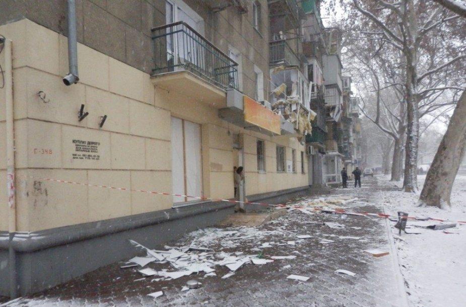 Sprogimo Odesoje padariniai