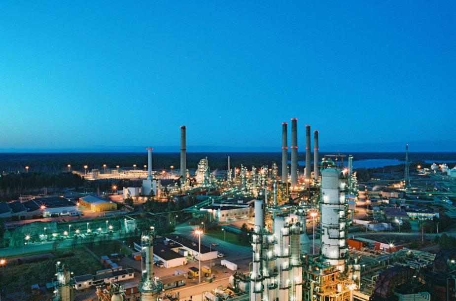 """Neste"" naftos perdirbimo gamykla Porvo mieste"