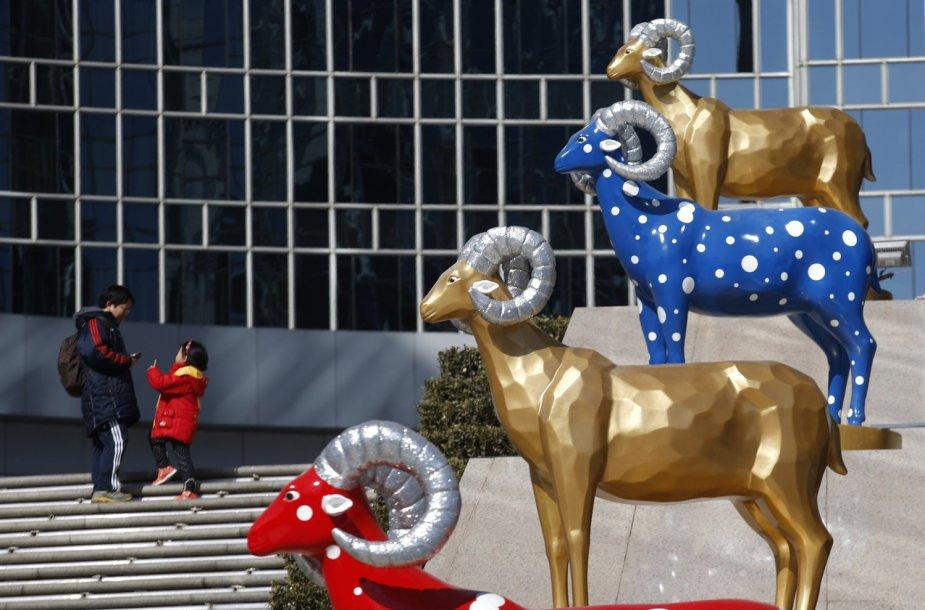 Kinija pasitinka Naujuosius Mėnulio metus