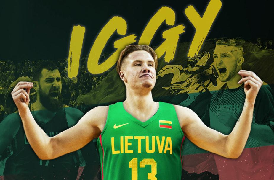 Ignas Brazdeikis nori atstovauti Lietuvos rinktinei