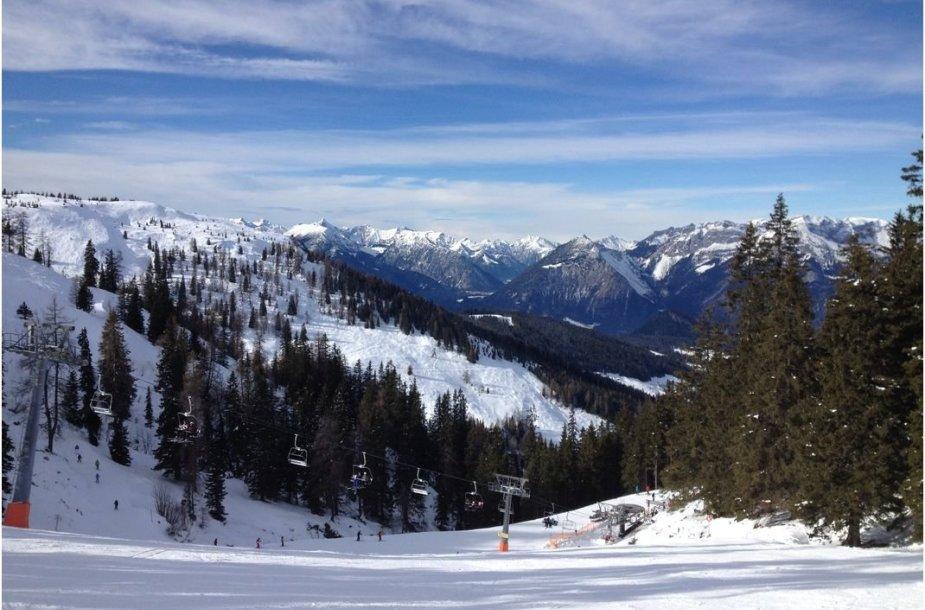 Skivelto slidinėjimo regionas Austrijoje, Skijuvelis