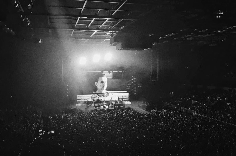 """Depeche Mode"" koncertas Rygoje"