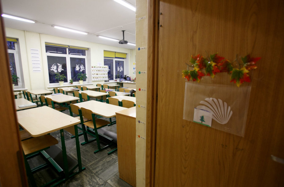 Streikas mokykloje