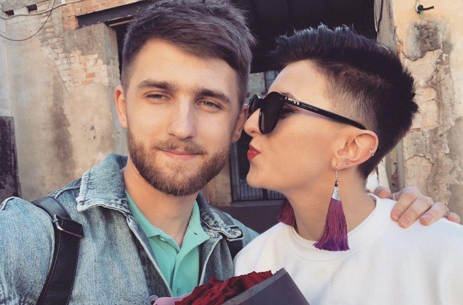 Artiomas Penkevičius ir Brigida Gruodytė