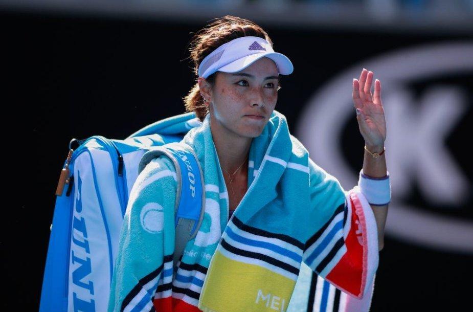 Kinijos tenisininkė Qiang Wang
