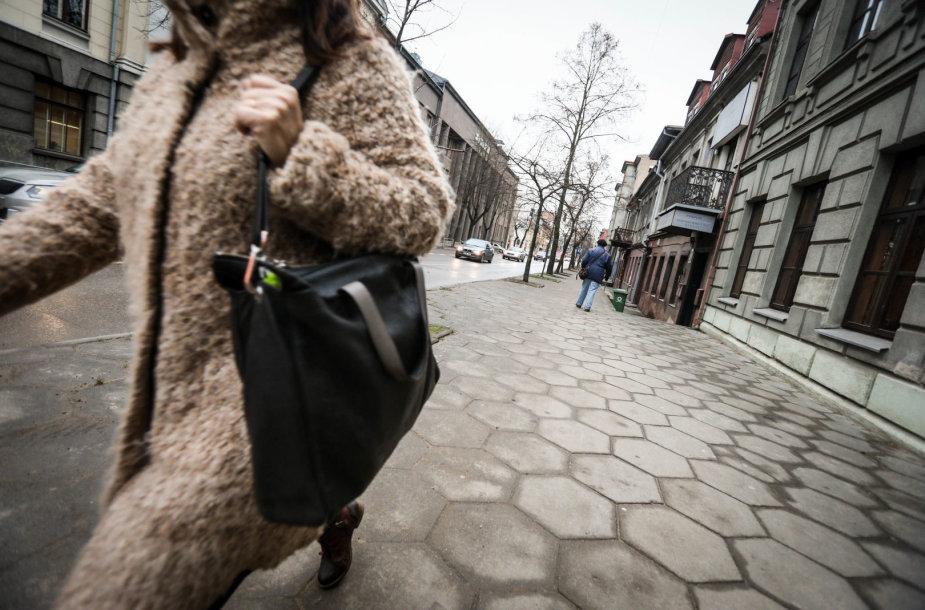 E.Ožeškienės gatvėje užpulta moteris