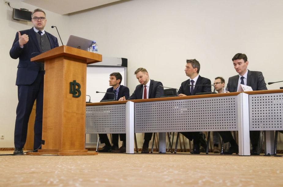 Lietuvos bankas pristatė vertinimus dėl Vyriausybės pasiūlytų mokesčių pakeitimų