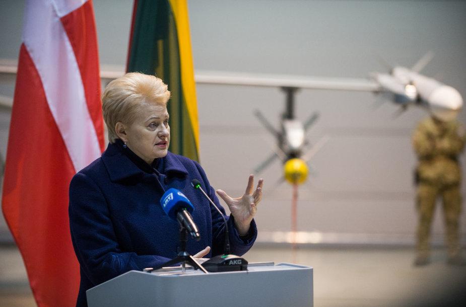 Dalios Grybauskaitės ir Danijos premjero Larso Lokke Rasmusseno susitikimo akimirka