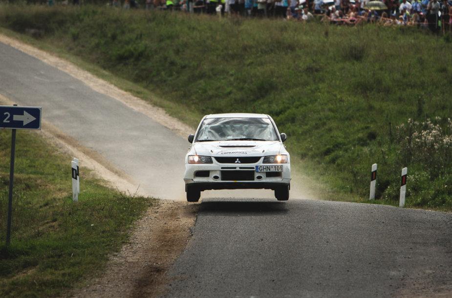 """Autoplius 300 lakes rally"" akimirka"