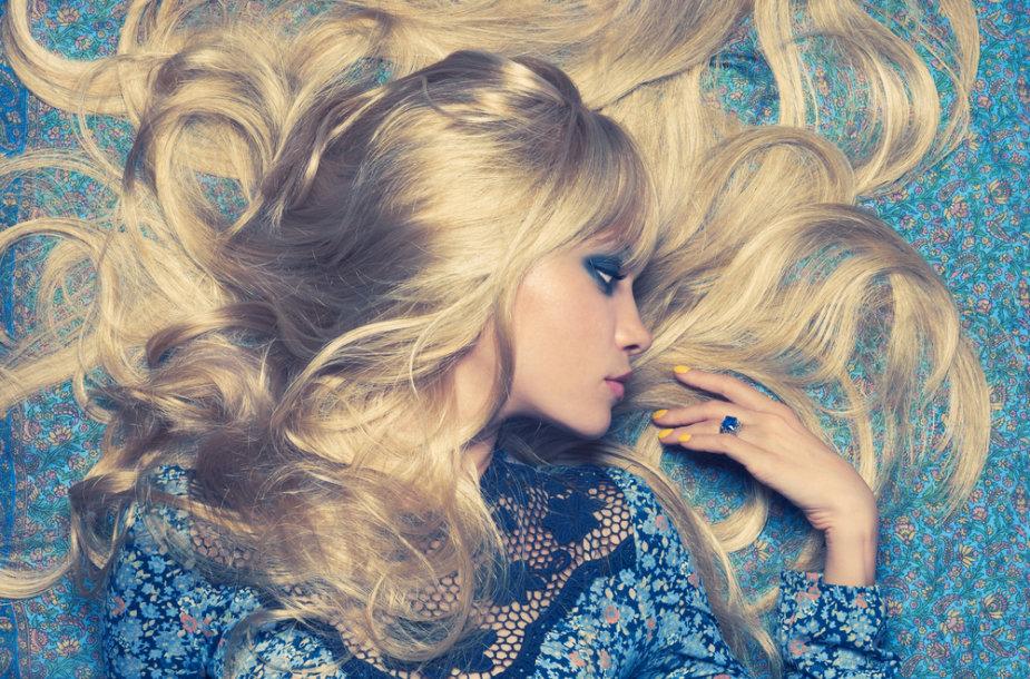 Gražūs sveiki plaukai