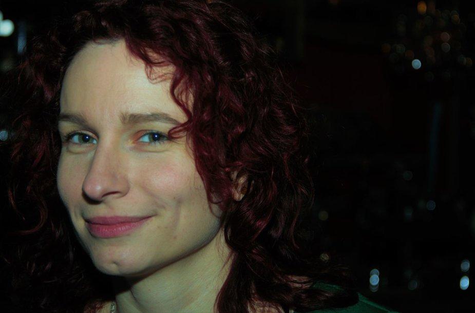 Rašytoja Aistė Vilkaitė