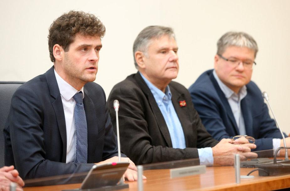 Remigijus Žemaitaitis, Vidmantas Martikonis ir Šarūnas Skučas