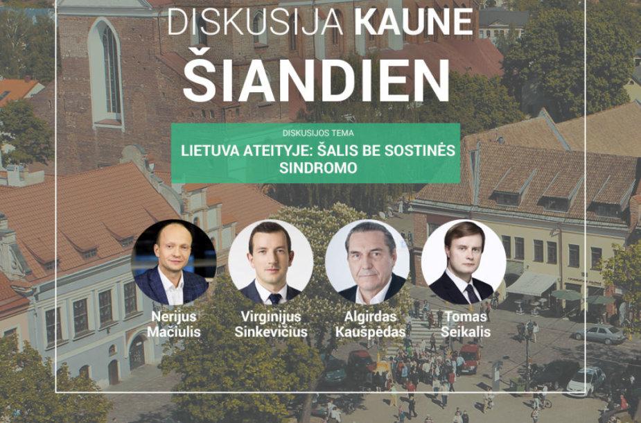 """""""Idėja Lietuvai"""" keliauja į Kauną: kaip efektyviau valdyti valstybinį sektorių?"""