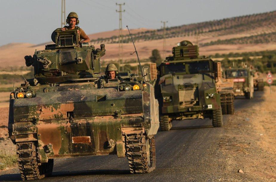 Turkijos kariai Sirijos teritorijoje