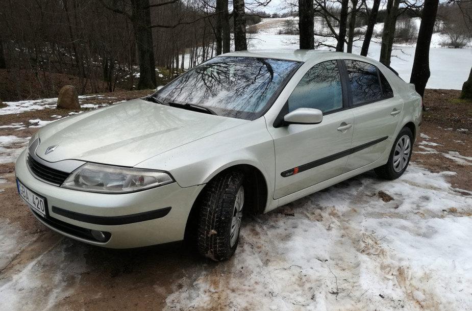 """Renault Laguna"" (2002 m.)"