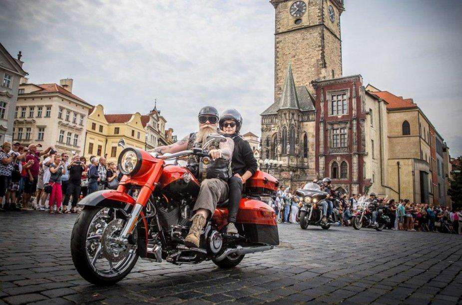"""Harley-Davidson"" jubiliejus Prahoje"