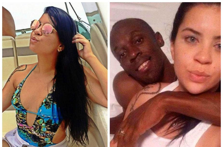 Naktį su Usainu Boltu praleidusi brazilė Jady Duarte