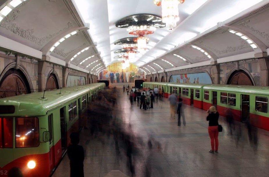 Šiaurės Korėjos metro