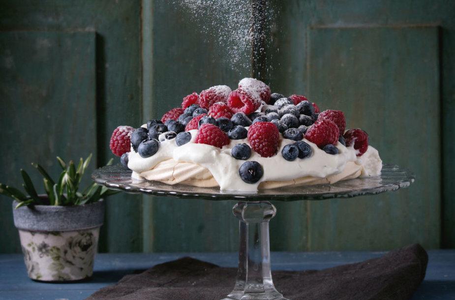 Morenginis tortas Pavlova
