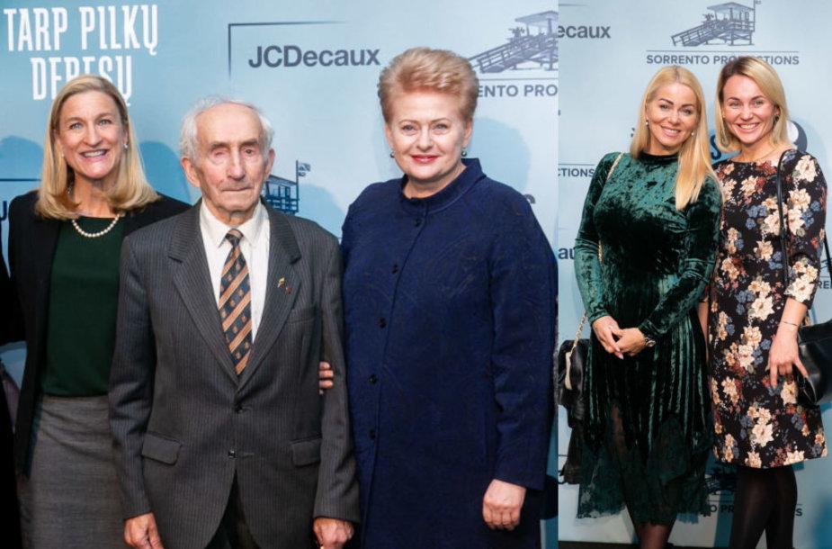 Rūta Šepetys, partizanas Juozas Jakavonis-Tigras, Dalia Grybauskaitė,