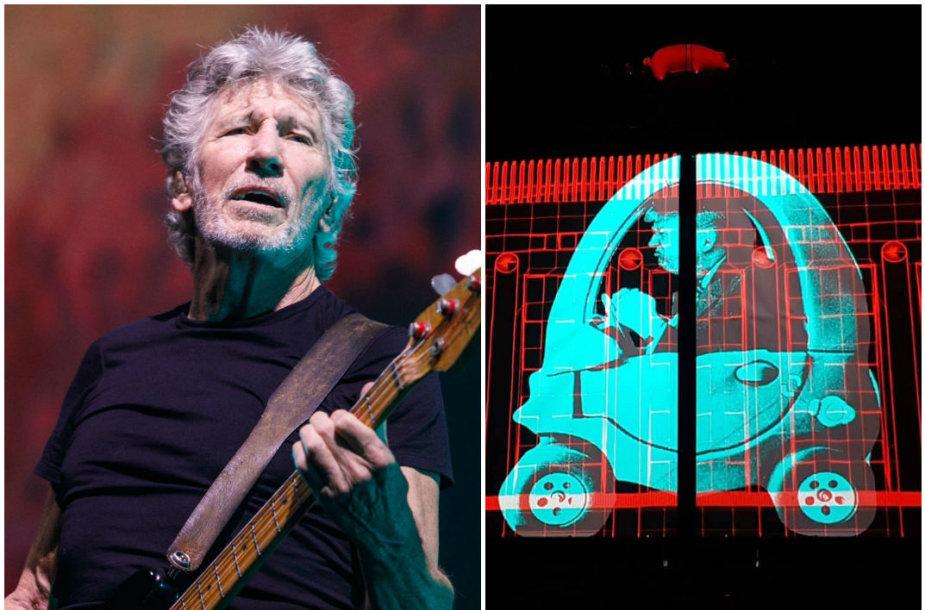 """Pink Floyd"" legendos Rogerio Waterso koncertas Kaune"