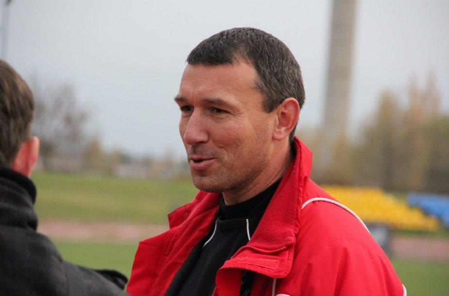Futbolo treneris Darius Gvildys
