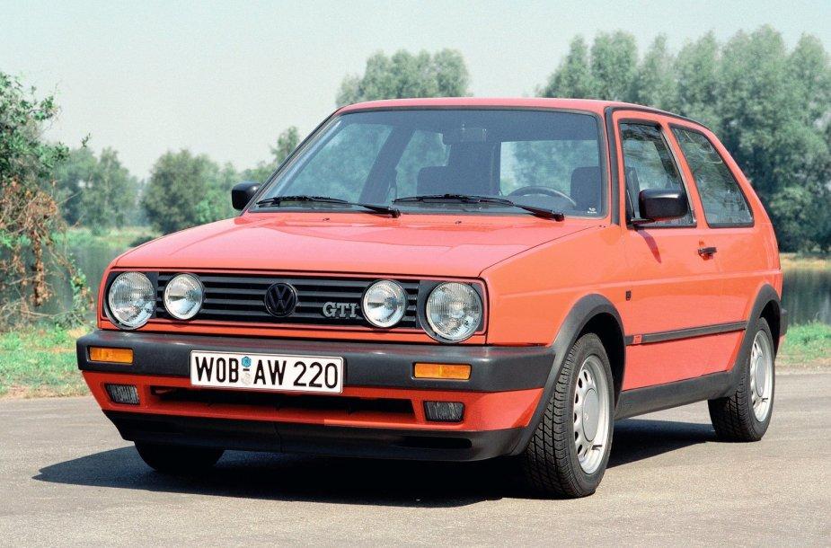 """II kartos """"Volkswagen Golf GTi"""""""